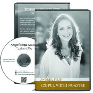 DVD - Scopul vietii noastre cu Andrea Filip